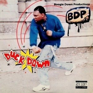 BOOGIE DOWN PRODUCTIONS - DUCK DOWN / WE IN THERE (12) (VG+/EX)