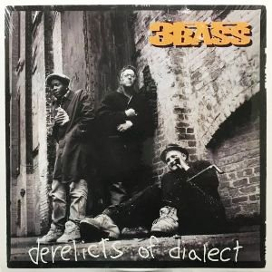 3RD BASS - DERELICTS OF DIALECT (LP) (EX/EX)