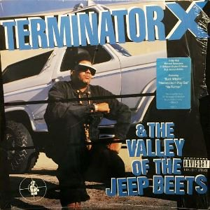 TERMINATOR X - TERMINATOR X & THE VALLEY OF THE JEEP BEETS (LP) (VG+/EX)