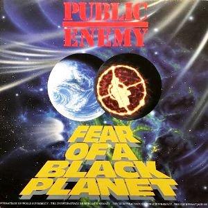 PUBLIC ENEMY - FEAR OF A BLACK PLANET (LP) (NL) (VG+/EX)
