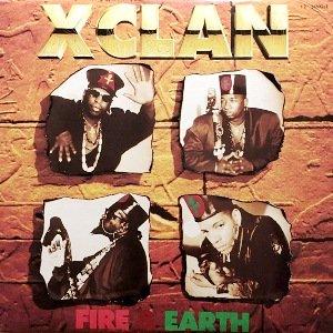 X-CLAN - FIRE & EARTH (12) (EX/EX)