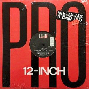 ROB BASE & D.J. E-Z ROCK - IT TAKES TWO (12) (EX/EX)