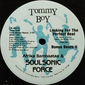AFRIKA BAMBAATAA & SOUL SONIC FORCE - LOOKING FOR THE PERFECT BEAT (12) (EX/VG+)