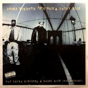 PRIME MINISTER PETE NICE & DADDY RICH - RAP PRIME MINISTER & DADDY RICH (12) (EX/EX)
