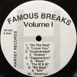 V.A. - FAMOUS BREAKS VOLUME I (12) (VG+)