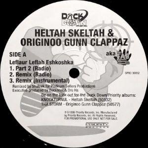 HELTAH SKELTAH & OGC - LEFLAUR LEFLAH ESHKOSHKA (12) (PROMO) (VG+)
