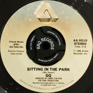 GQ - SITTING IN THE PARK / IT'S LIKE THAT (7) (VG)