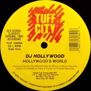 DJ HOLLYWOOD - HOLLYWOOD'S WORLD / SMOKING JUMBOS (12) (RE) (VG+/VG+)