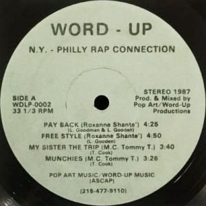 V.A. - N.Y. - PHILLY RAP CONNECTION (LP) (VG+/VG+)