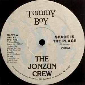 THE JONZUN CREW - SPACE IS THE PLACE (12) (VG/VG+)
