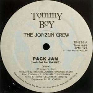 THE JONZUN CREW - PACK JAM (LOOK OUT FOR THE OVC) (12) (VG+)