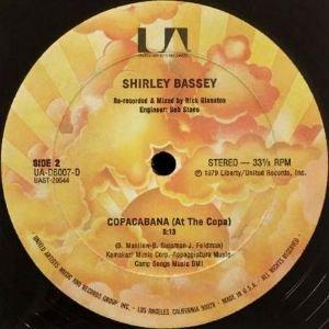 SHIRLEY BASSEY - THIS IS MY LIFE (LAVITA) / COPACABANA (AT THE COPA) (12) (VG/VG+)