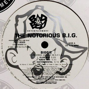 NOTORIOUS B.I.G. - BIGGIE / WOULD YOU DIE FOR ME (12) (VG+/VG+)