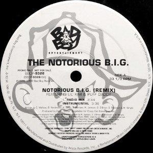 NOTORIOUS B.I.G. - NOTORIOUS B.I.G. (REMIX) (12) (VG+/VG+)