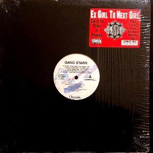 GANG STARR - EX GIRL TO NEXT GIRL / B.Y.S. / DWYCK (12) (VG+/EX)