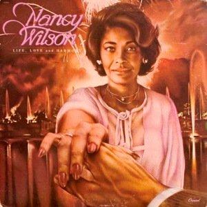 NANCY WILSON - LIFE, LOVE & HARMONY (LP) (VG/VG)