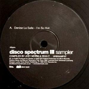 DENISE LASALLE / MANDRE - DISCO SPECTRUM III (SAMPLER) (12) (VG+)