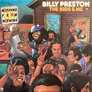 BILLY PRESTON - THE KIDS & ME (LP) (PROMO) (VG+/VG+)