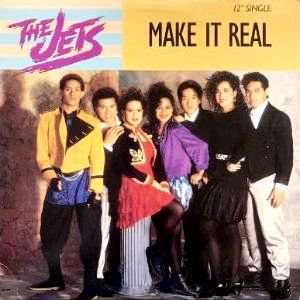 THE JETS - MAKE IT REAL (12) (VG+/VG+)