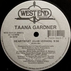 TAANA GARDNER - HEARTBEAT (12) (RE) (EX/EX)