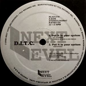 D.I.T.C. - PUT IT IN YOUR SYSTEM (12) (VG+/VG+)