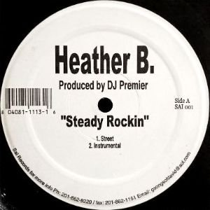 HEATHER B. - STEADY ROCKIN (12) (VG+)