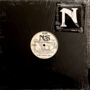 NAS - WHERE ARE THEY NOW (REMIX) (12) (VG+/EX)