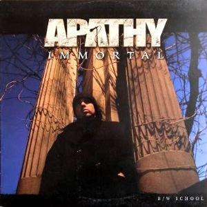APATHY - IMMORTAL (12) (EX/VG+)