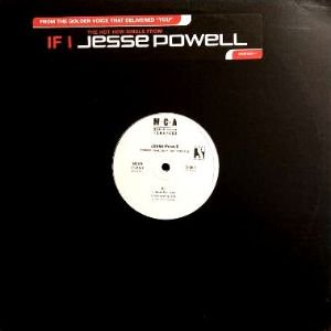 JESSE POWELL - IF I (12) (PROMO) (EX/VG+)