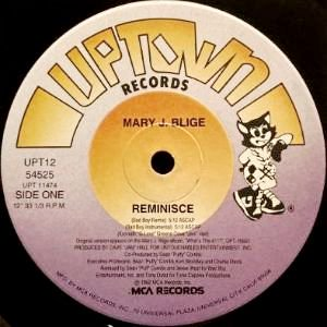 MARY J. BLIGE - REMINISCE (12) (VG)
