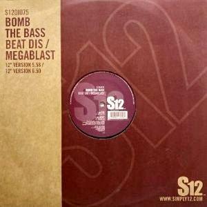 BOMB THE BASS - BEAT DIS / MEGABLAST (12) (VG/VG+)