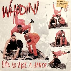 WHODINI - LIFE IS LIKE A DANCE / I'M A HO (12) (EX/VG+)