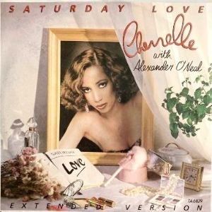 CHERRELLE WITH ALEXANDER O'NEAL - SATURDAY LOVE (EXTENDED VERSION) (12) (UK) (VG/VG+)