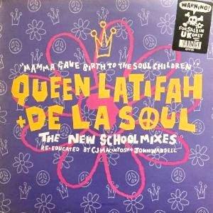 QUEEN LATIFAH + DE LA SOUL - MAMMA GAVE BIRTH TO THE SOUL CHILDREN  (12) (UK) (VG+/VG+)