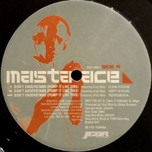 MASTA ACE - DON'T UNDERSTAND (PUMP IT LIKE THIS) (12) (PROMO) (VG+)