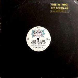 BLACKSTREET & MYA feat. MA$E - TAKE ME THERE (12) (PROMO) (VG/VG)