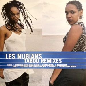 <img class='new_mark_img1' src='https://img.shop-pro.jp/img/new/icons3.gif' style='border:none;display:inline;margin:0px;padding:0px;width:auto;' />LES NUBIANS - TABOU REMIXES (12) (PROMO) (VG+/VG+)
