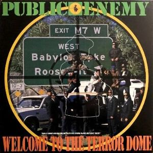 <img class='new_mark_img1' src='https://img.shop-pro.jp/img/new/icons3.gif' style='border:none;display:inline;margin:0px;padding:0px;width:auto;' />PUBLIC ENEMY - WELCOME TO THE TERRORDOME (12) (EX/VG+)