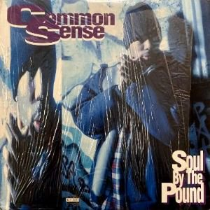 COMMON SENSE - SOUL BY THE POUND / CAN-I-BUST (12) (VG+/VG+)