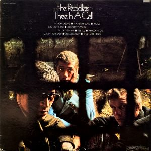 THE PEDDLERS - THREE IN A CELL (LP) (VG+/VG+)