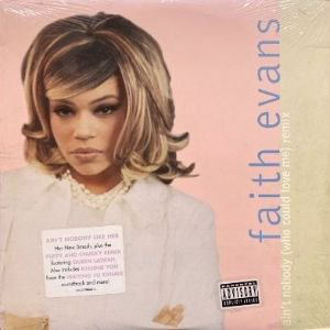<img class='new_mark_img1' src='https://img.shop-pro.jp/img/new/icons3.gif' style='border:none;display:inline;margin:0px;padding:0px;width:auto;' />FAITH EVANS - AIN'T NOBODY (WHO COULD LOVE ME) (REMIX) (12) (EX/EX)