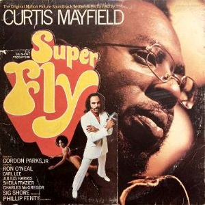 <img class='new_mark_img1' src='https://img.shop-pro.jp/img/new/icons3.gif' style='border:none;display:inline;margin:0px;padding:0px;width:auto;' />CURTIS MAYFIELD - SUPER FLY (O.S.T.) (LP) (VG/VG)
