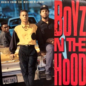<img class='new_mark_img1' src='https://img.shop-pro.jp/img/new/icons3.gif' style='border:none;display:inline;margin:0px;padding:0px;width:auto;' />V.A. - BOYZ N THE HOOD  (O.S.T.) (LP) (PROMO) (VG/VG+)
