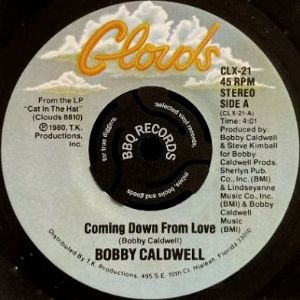 BOBBY CALDWELL - COMING DOWN FROM LOVE / OPEN YOUR EYES (7) (EX/VG+)