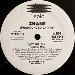ZHANE - HEY MR. D.J. (12) (PROMO) (VG+)