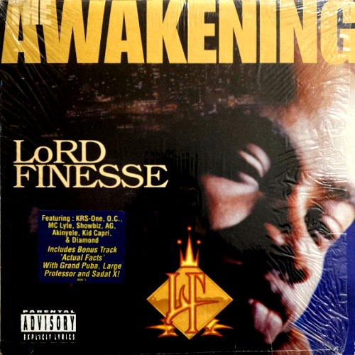 <img class='new_mark_img1' src='https://img.shop-pro.jp/img/new/icons3.gif' style='border:none;display:inline;margin:0px;padding:0px;width:auto;' />LORD FINESSE - THE AWAKENING (LP) (VG/EX)