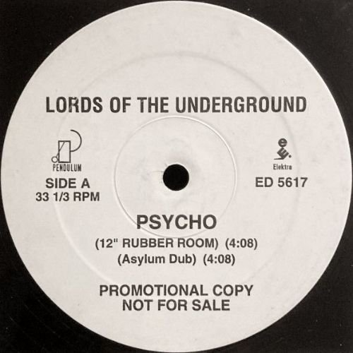 LORDS OF THE UNDERGROUND - PSYCHO (12) (PROMO) (VG)