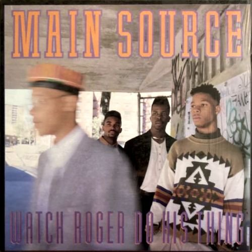 MAIN SOURCE - WATCH ROGER DO HIS THING / LARGE PROFESSOR (12) (EX/EX)