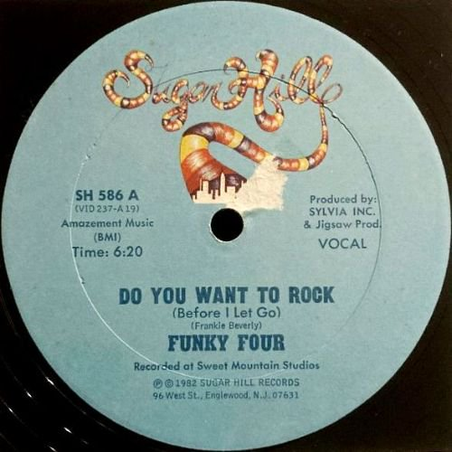 FUNKY FOUR - DO YOU WANT TO ROCK (BEFORE I LET GO) (12) (VG+/G)
