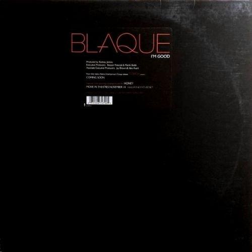 BLAQUE - I'M GOOD (12) (VG+/VG+)